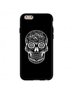 Coque Tête de Mort Mexicaine Blanche pour iPhone 6 et 6S - Laetitia