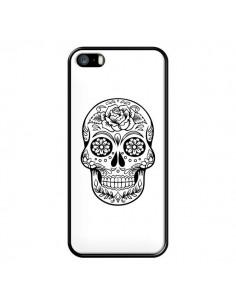 Coque Tête de Mort Mexicaine Noir pour iPhone 5/5S et SE - Laetitia