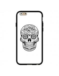 Coque Tête de Mort Mexicaine Noir pour iPhone 6 et 6S - Laetitia