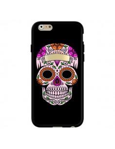 Coque Tête de Mort Mexicaine Multicolore pour iPhone 6 et 6S - Laetitia