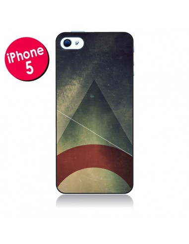 Coque Triangle Azteque pour iPhone 5 - Danny Ivan