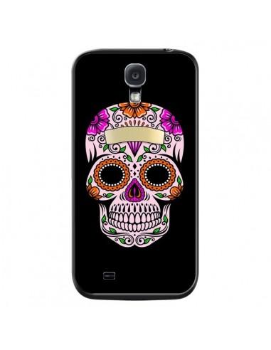 Coque Tête de Mort Mexicaine Multicolore pour Samsung Galaxy S4 - Laetitia