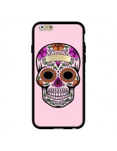 Coque Tête de Mort Mexicaine Rose Multicolore pour iPhone 6 et 6S - Laetitia
