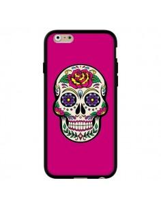 Coque Tête de Mort Mexicaine Rose Fushia pour iPhone 6 et 6S - Laetitia