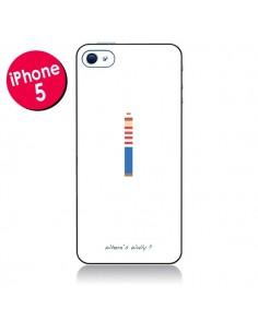 Coque Où est Charlie pour iPhone 5 - Danny Ivan