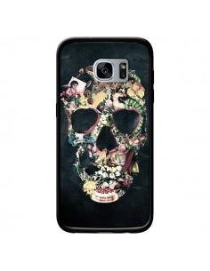 Coque Skull Vintage Tête de Mort pour Samsung Galaxy S7 - Ali Gulec