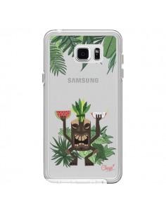 Coque Tiki Thailande Jungle Bois Transparente pour Samsung Galaxy Note 5 - Chapo