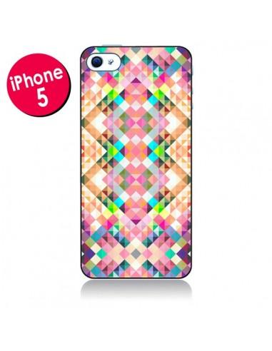 Coque Wild Colors Azteque pour iPhone 5 - Danny Ivan