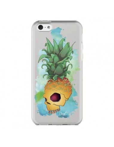 Coque iPhone 5C Crananas Crane Ananas Transparente - Chapo