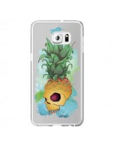 Coque Crananas Crane Ananas Transparente pour Samsung Galaxy S6 Edge Plus - Chapo