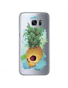 Coque Crananas Crane Ananas Transparente pour Samsung Galaxy S7 - Chapo