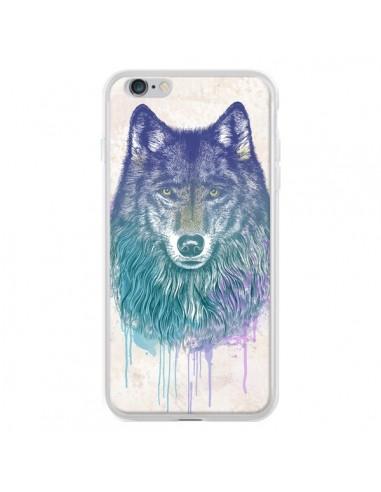 Coque iPhone 6 Plus et 6S Plus Loup -...