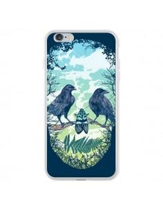 Coque Tête de Mort Nature pour iPhone 6 Plus et 6S Plus - Rachel Caldwell