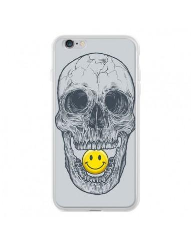 Coque iPhone 6 Plus et 6S Plus Smiley Face Tête de Mort - Rachel Caldwell