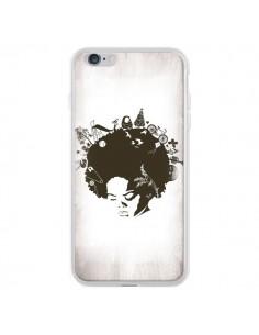 Coque Childhood Garden Afro pour iPhone 6 Plus et 6S Plus - Rachel Caldwell