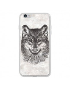 Coque Loup Gris pour iPhone 6 Plus et 6S Plus - Rachel Caldwell