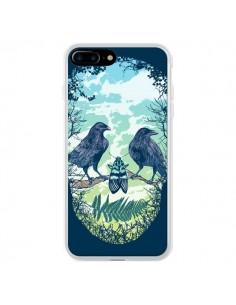 Coque Tête de Mort Nature pour iPhone 7 Plus - Rachel Caldwell