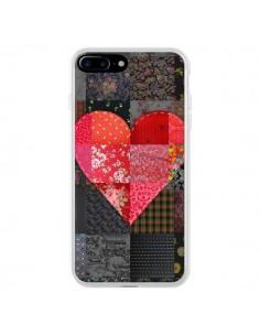 Coque iPhone 7 Plus et 8 Plus Coeur Heart Patch - Rachel Caldwell