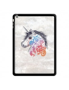 Coque Licorne Muticolore pour iPad Air - Rachel Caldwell