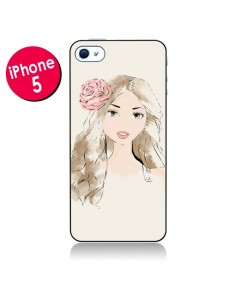 Coque Girlie Fille pour iPhone 5 - Tipsy Eyes