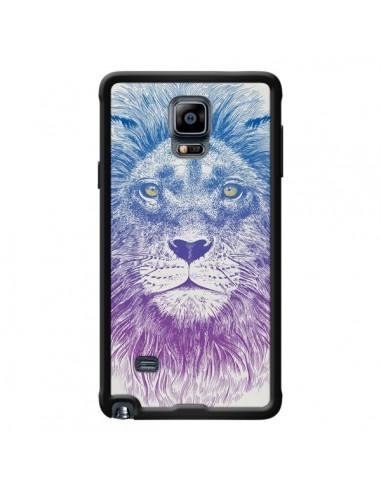Coque Lion pour Samsung Galaxy Note 4...
