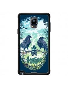 Coque Tête de Mort Nature pour Samsung Galaxy Note 4 - Rachel Caldwell