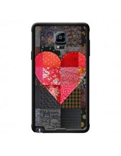 Coque Coeur Heart Patch pour Samsung Galaxy Note 4 - Rachel Caldwell