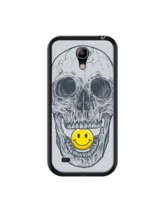 Coque Smiley Face Tête de Mort pour Samsung Galaxy S4 Mini - Rachel Caldwell