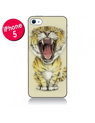 Coque Lion Rawr pour iPhone 5 - Tipsy Eyes