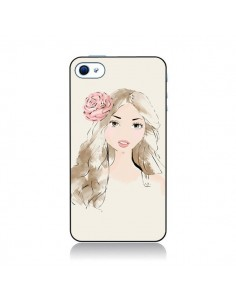 Coque Girlie Fille pour iPhone 4 et 4S - Tipsy Eyes