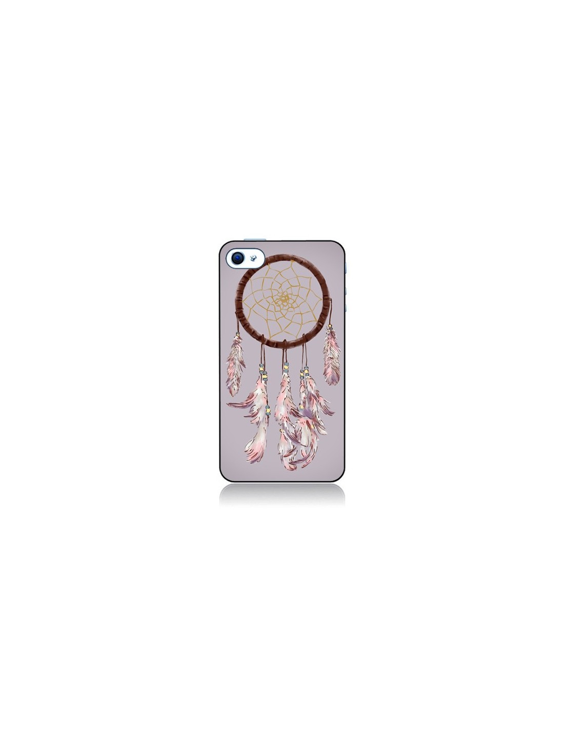 Coque Attrape-rêves violet pour iPhone 4 et 4S - Tipsy Eyes d913a0afa22