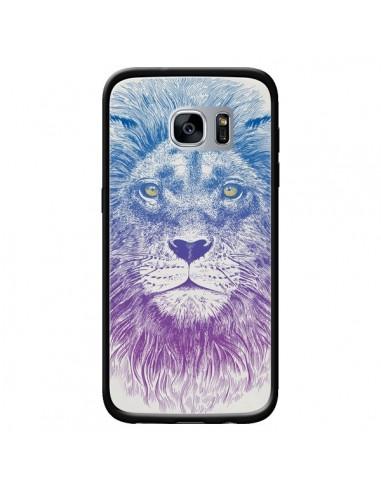 Coque Lion pour Samsung Galaxy S7 -...