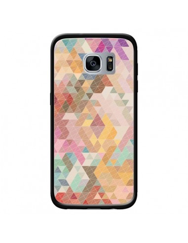 Coque Azteque Pattern Triangles pour...