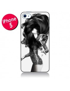 Coque Femme Ours pour iPhone 5 - Jenny Liz Rome