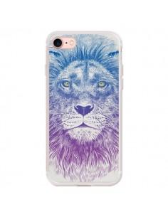 Coque iPhone 7/8 et SE 2020 Lion - Rachel Caldwell