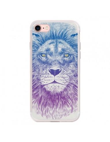 Coque iPhone 7/8 et SE 2020 Lion -...