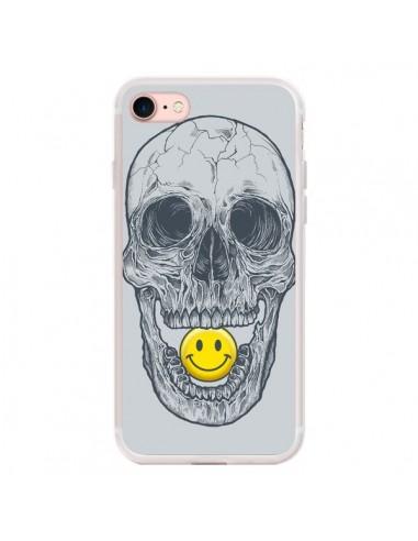 Coque iPhone 7/8 et SE 2020 Smiley...