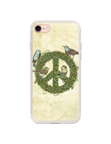 Coque iPhone 7/8 et SE 2020 Peace And...