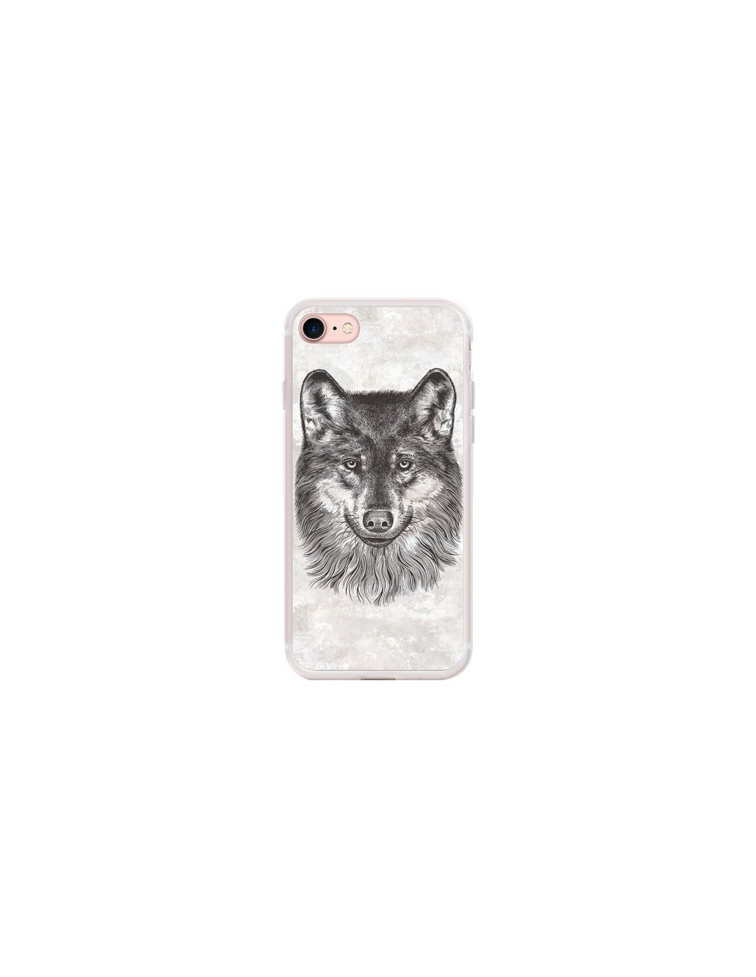 coque iphone 7 loup