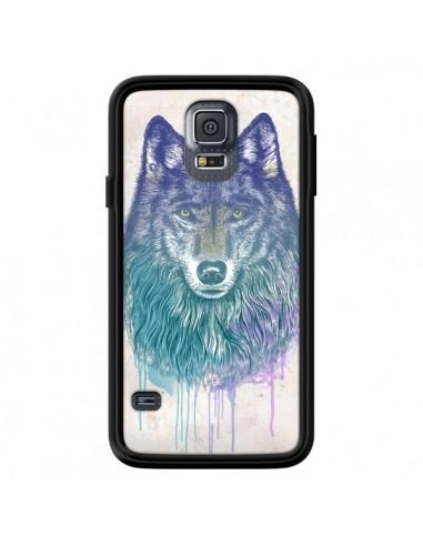 Coque Loup pour Samsung Galaxy S5 - Rachel Caldwell