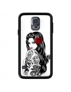 Coque Tattoo Girl Lolita pour Samsung Galaxy S5 - Rachel Caldwell