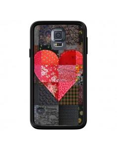 Coque Coeur Heart Patch pour Samsung Galaxy S5 - Rachel Caldwell