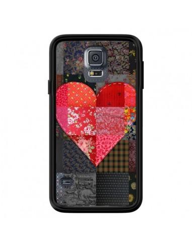 Coque Coeur Heart Patch pour Samsung...