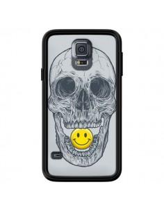 Coque Smiley Face Tête de Mort pour Samsung Galaxy S5 - Rachel Caldwell