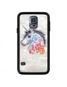 Coque Licorne Muticolore pour Samsung Galaxy S5 - Rachel Caldwell
