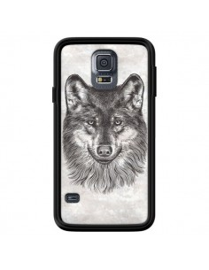 Coque Loup Gris pour Samsung Galaxy S5 - Rachel Caldwell