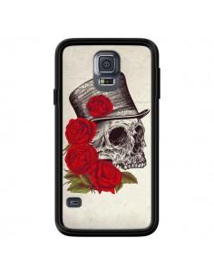 Coque Gentleman Crane Tête de Mort pour Samsung Galaxy S5 - Rachel Caldwell