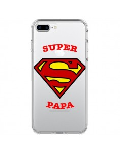 Coque Super Papa Transparente pour iPhone 7 Plus et 8 Plus - Laetitia