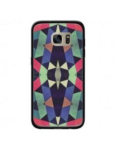 Coque Azteque Cristals pour Samsung Galaxy S7 Edge - Maximilian San