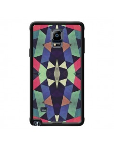 Coque Azteque Cristals pour Samsung Galaxy Note 4 - Maximilian San